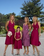 Bridesmaid Dress Style 711103 (claret) - Forever Yours