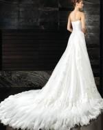 Wedding Dress - Adriana back view - Intuzuri